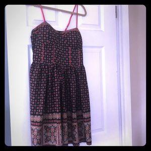Gorgeous dress adjustable straps size large